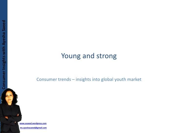 Consumer Insights with Ayesha Saeed Consumer Insights with Ayesha Saeed                                                   ...