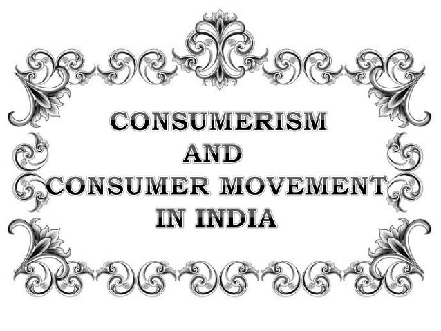 Effects of Consumerism
