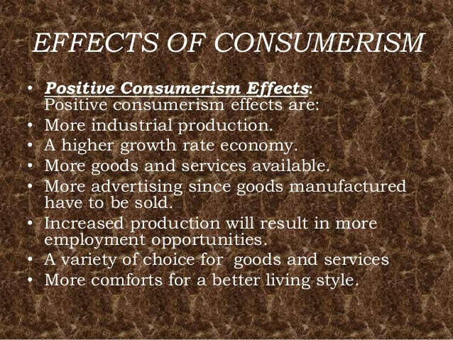 Consumerism -Need, Rights, Consumer Responsibility