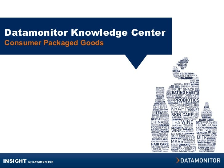 Datamonitor Knowledge Center Consumer Packaged Goods