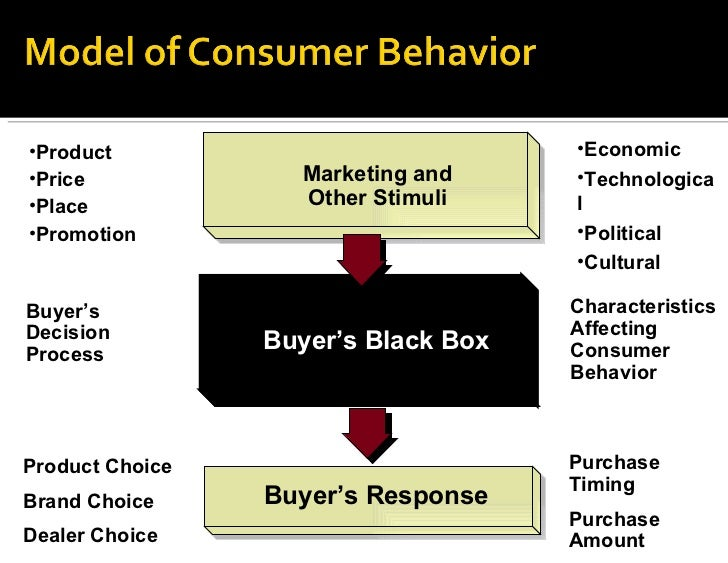consumer market and buyer behavior