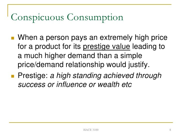 conspicuous consumption and consumer society While the problems of excessive or conspicuous consumption were  the consumer society has  creating-the-consumercreating the consumer.