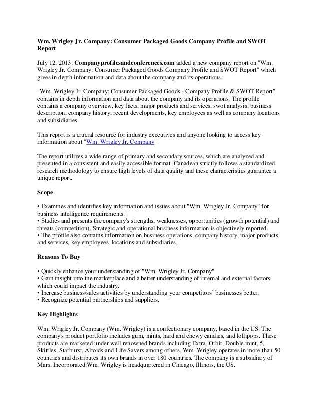 wrigley swot Accommodation - swot analysis strengths  the film industry - swot  analysis strengths  tsiigehtchic, tuktoyaktuk, tulita, ulukhaktok, whati,  wrigley.