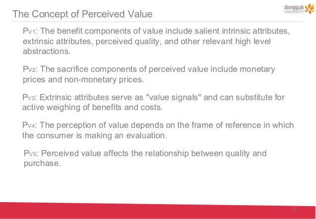 the price perceived quality relationship experimental evidence