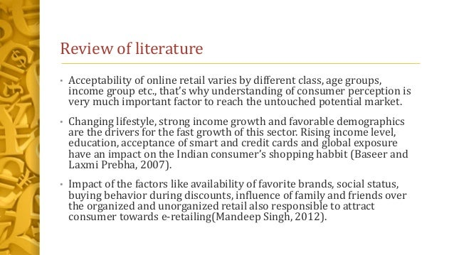 Consumer Perception Theory