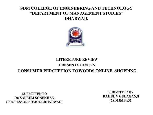 literature review on retailers perception A literature review on training & development and quality of work life ms pallavi p kulkarni, assistant professor, mes night college, aabasaheb garware campus, affiliated to university of pune, pune, india abstract in this competitive world, training plays an important role in the competent and challenging format.