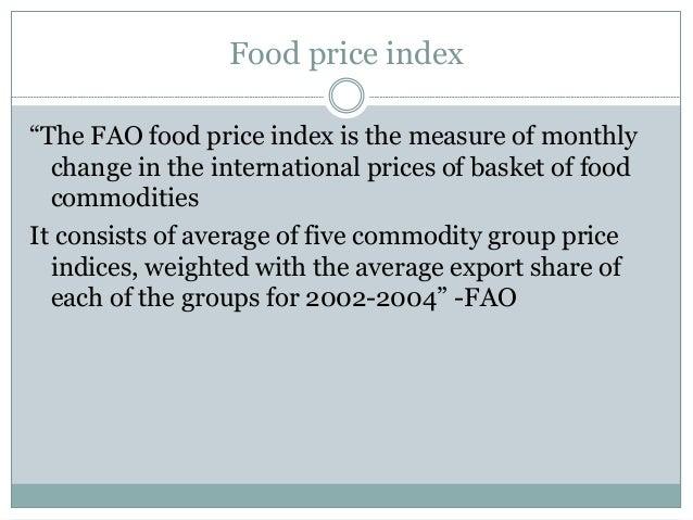 Consumer Price Index Slide 2