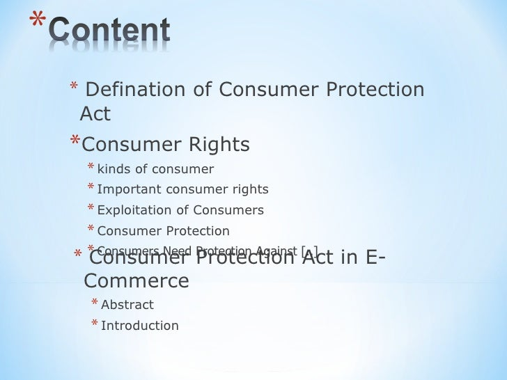 criticism on consumer protection act Latest news article from meumann white news: a summary of the consumer protection act 68 of 2008.