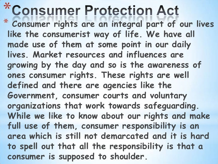 consumer rights and protection against exploitation pdf