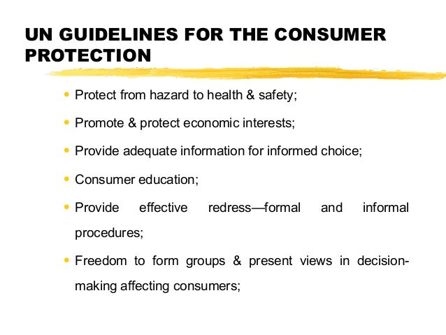 Consumer protection act, 1986 Slide 3