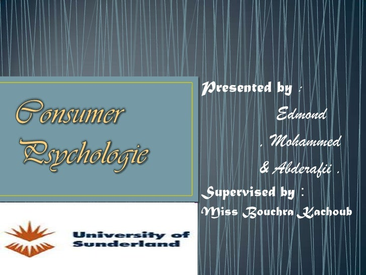 Presented by :          Edmond        , Mohammed        & Abderafii .Supervised by :Miss Bouchra Kachoub
