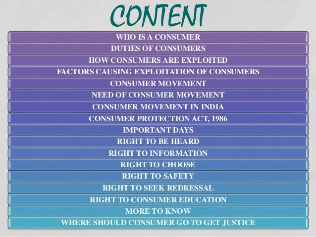 consumer movement in india Have you come across the jago grahak jago advertisements on tv or radio the idea behind this campaign is to educate consumers about their rights the consumer.