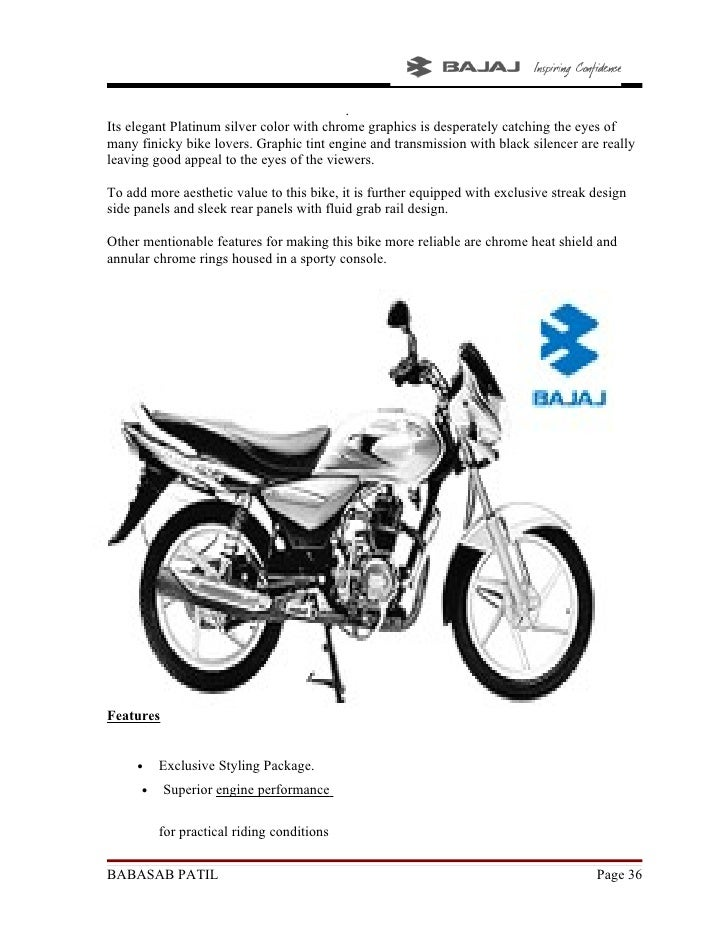 """project report on bajaj pulsar Customer based brand equity model (cbbe) the cbbe model approaches brand equity from the perspective of the customer – whether customer is an individual or an organization  (focusing on bajaj pulsar)"""" report on """"customer based brand equity in motor bike sector (focusing on bajaj pulsar)"""" [pic] report on """"customer based brand."""