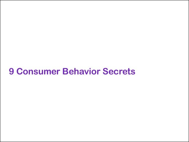 Secret #2: Sometimes, people don't know why they prefer brands