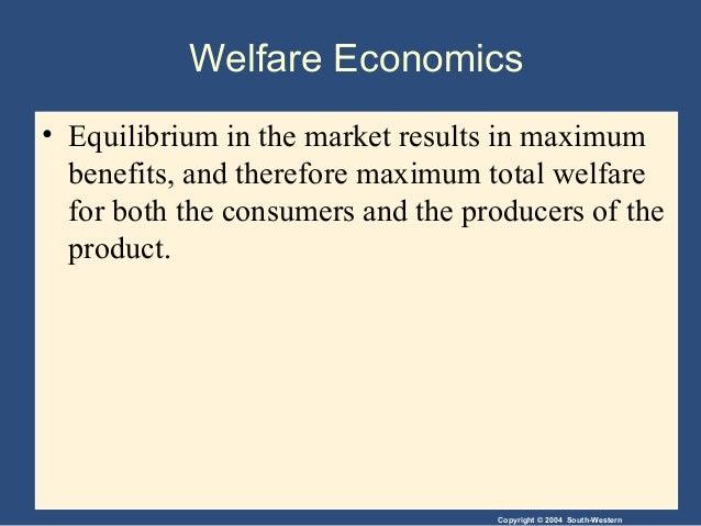 Welfare economics is the study of - answers.com
