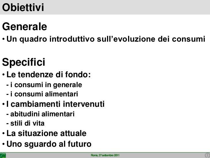 Consumi  in italia 2011 Slide 2