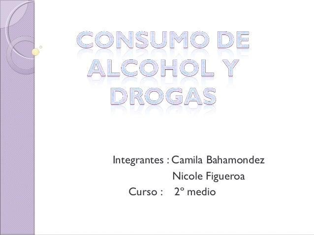 Integrantes : Camila Bahamondez Nicole Figueroa Curso : 2º medio