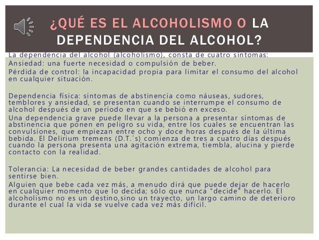 Del alcoholismo los modos públicos sin conocimiento del enfermo