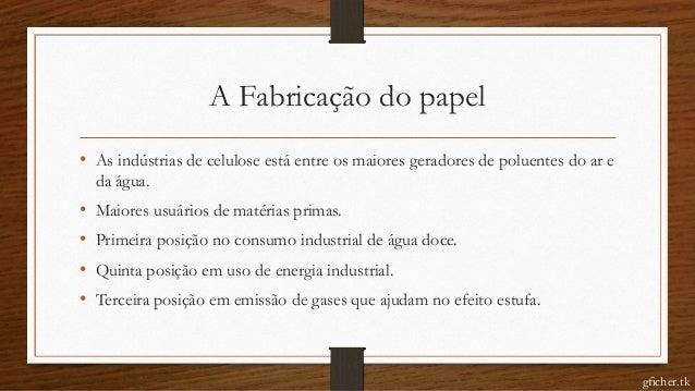 FDA   Consumo de papel Slide 3