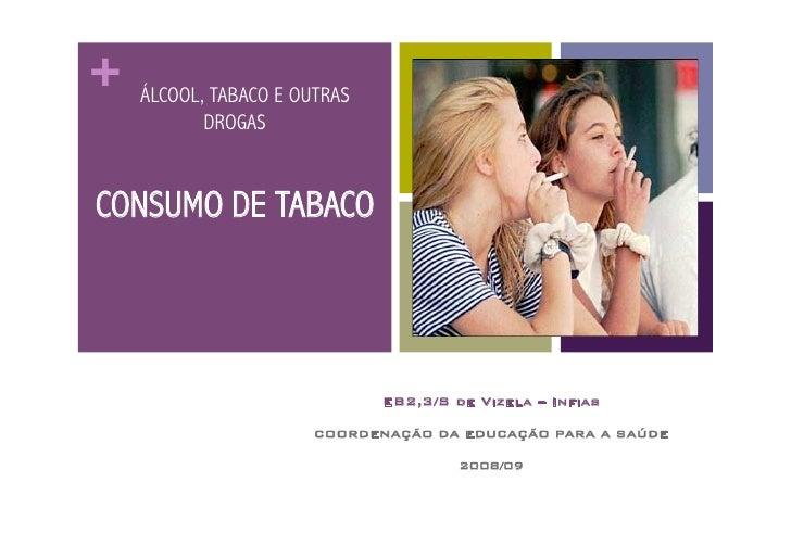 +   ÁLCOOL, TABACO E OUTRAS            DROGAS   CONSUMO DE TABACO                                   EB2,3/S de Vizela – In...
