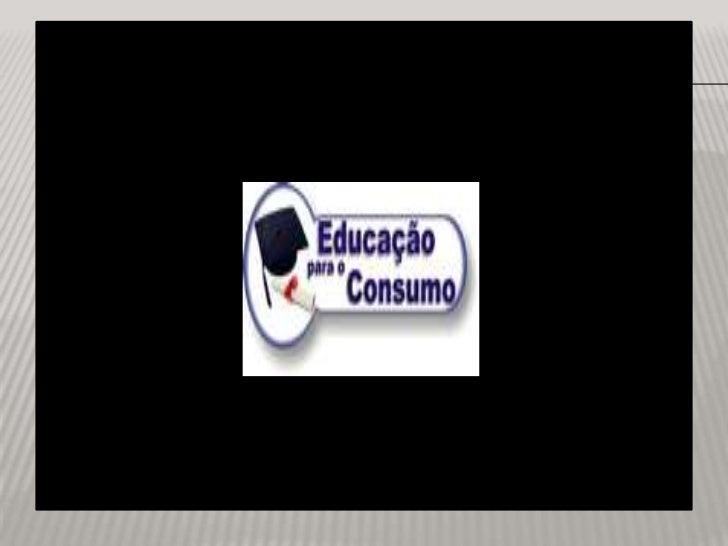 Educação para o Consumo em imagens