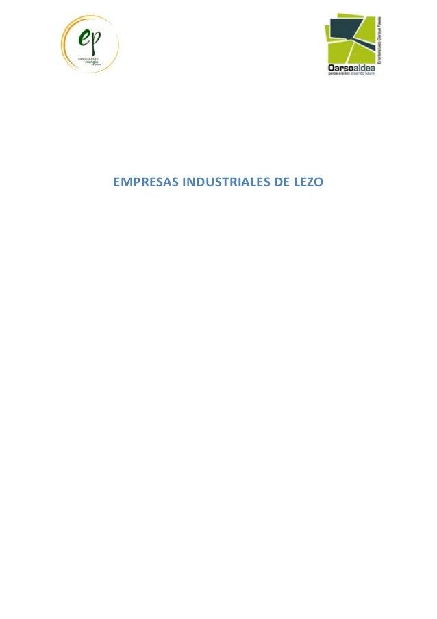 Consumo energ tico de la industria en oarsoaldea for Puertas metalicas lezo