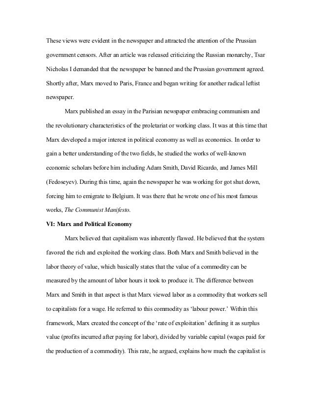 Adam Smith Essays