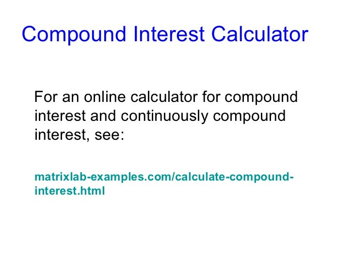 how to find equivalant continuous compunding rate