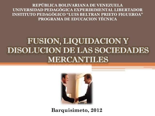 "REPÚBLICA BOLIVARIANA DE VENEZUELAUNIVERSIDAD PEDAGÓGICA EXPERIRIMENTAL LIBERTADORINSTITUTO PEDAGÓGICO ""LUIS BELTRAN PRIET..."