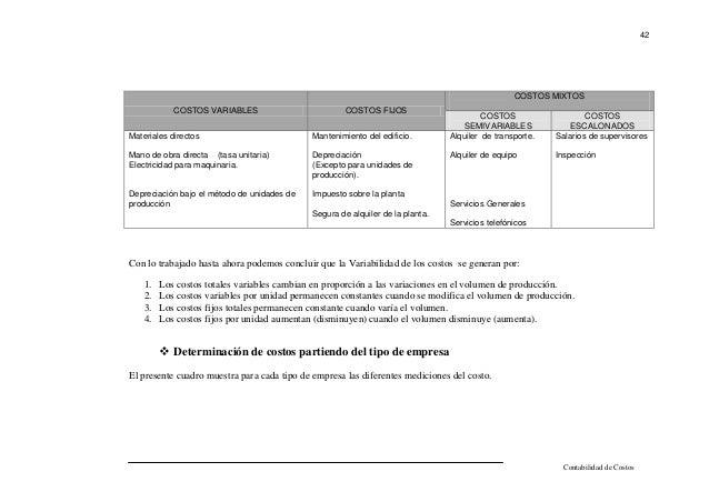 COSTCO FIJOS VARIABLES Y TOTALES EPUB