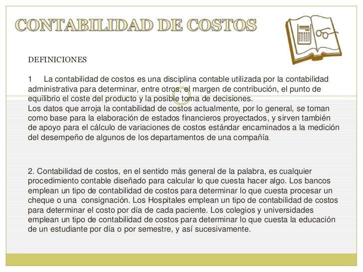 contabilidad de costos pdf