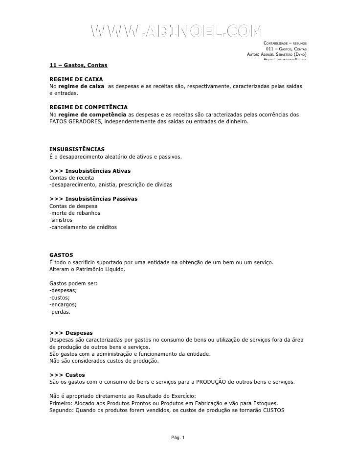 WWW.ADINOEL.COM                                                                                   CONTABILIDADE – RESUMOS ...