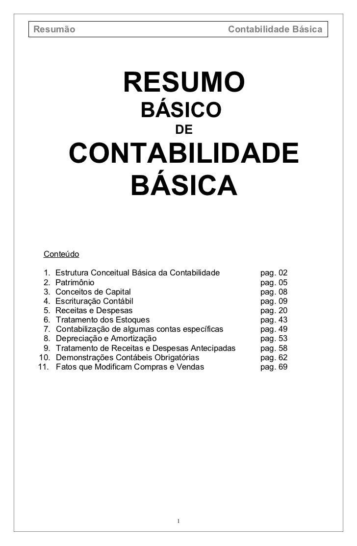 Contabilidade Basica Facil Pdf