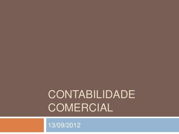 CONTABILIDADECOMERCIAL13/09/2012