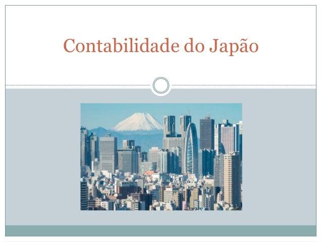 Contabilidade do Japão