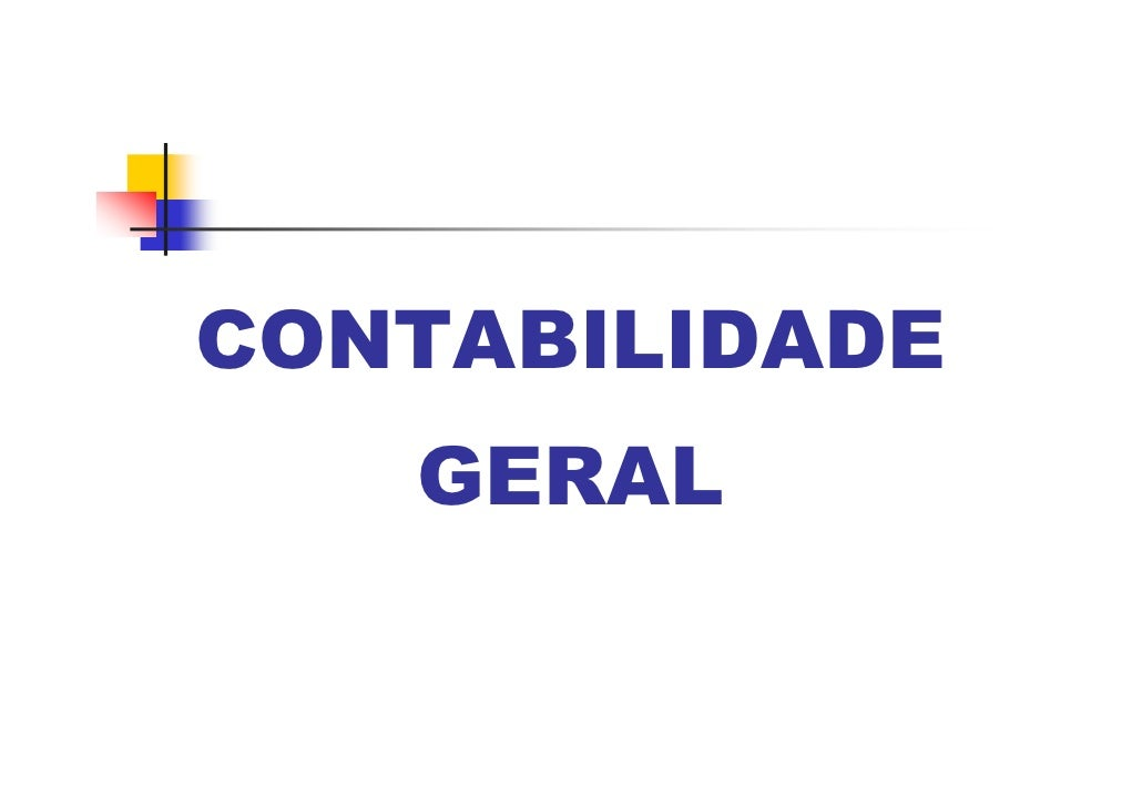 CONTABILIDADE    GERAL