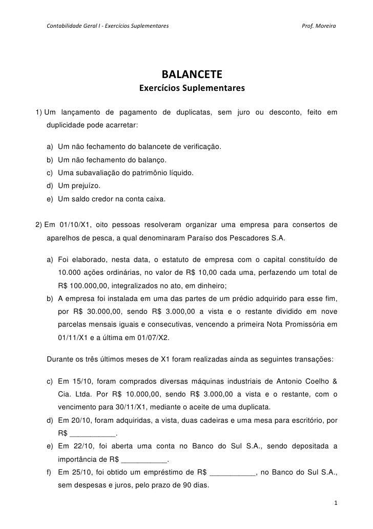 Contabilidade geral i exercicios suplementares balancete_aluno