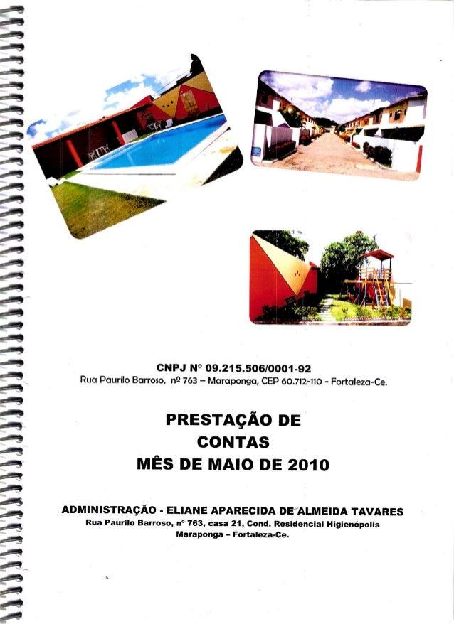 'ÍI, 4. .. I.II. IIHUN)IHIAHUIIIIIIIIIIMHHHH  CNPJ N° 09.21 5506/0001-92 Rua Paurílo Barroso,  n9 763 - Maraponga,  CEP 60...