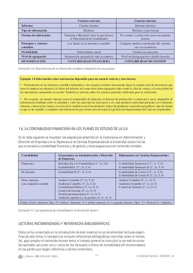 cuentas plan general contable 2008 tienen