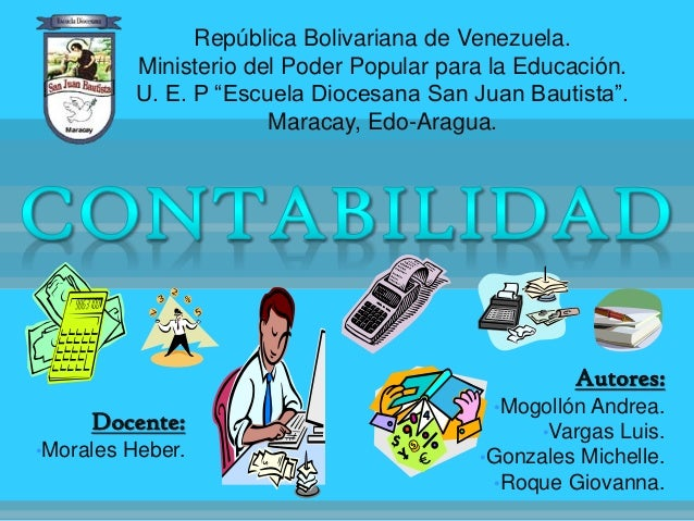 "República Bolivariana de Venezuela. Ministerio del Poder Popular para la Educación. U. E. P ""Escuela Diocesana San Juan Ba..."
