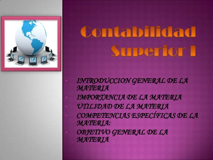 • INTRODUCCION GENERAL DE LA MATERIA• IMPORTANCIA DE LA MATERIA• UTILIDAD DE LA MATERIA• COMPETENCIAS ESPECÍFIC...