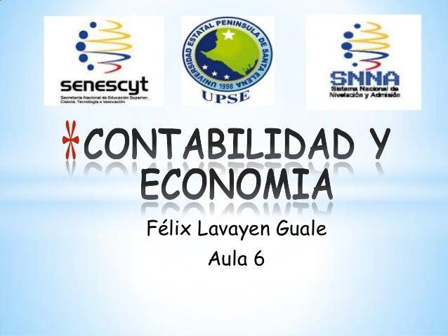 Félix Lavayen GualeAula 6