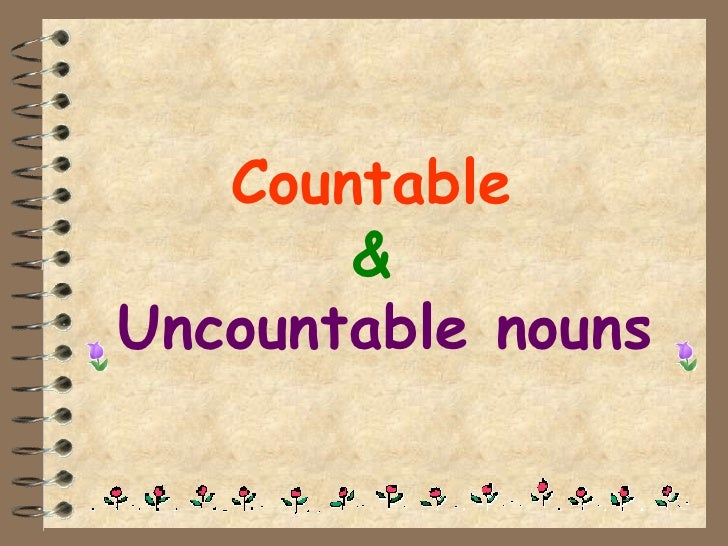 FREE ESL Countable and uncountable nouns worksheets