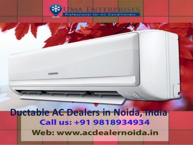 Ductable AC Dealers in Noida, India