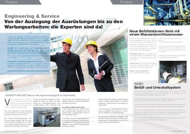 Prozess Engineering & Service Von der Auslegung der Ausrüstungen bis zu den Wartungsarbeiten: die Experten sind da! KONZEP...