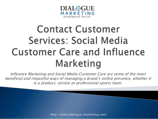 Influence Marketing and Social Media Customer Care are some of the mostbeneficial and impactful ways of managing a brand's...