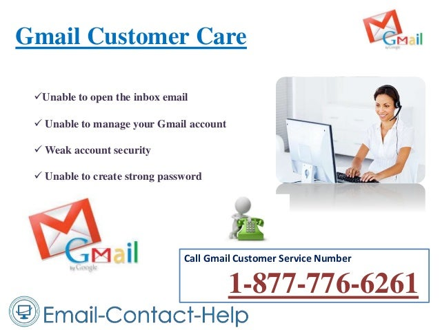 Gmail Customer Care Call Gmail Customer Service Number 1-877-776-6261 Unable to open the inbox email  Unable to manage y...