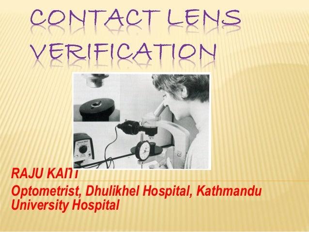 RAJU KAITI Optometrist, Dhulikhel Hospital, Kathmandu University Hospital