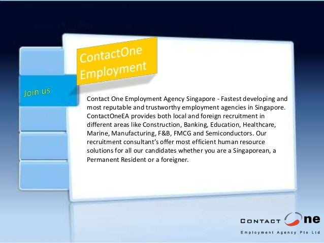 Looking for a recruitment agency in Singapore?
