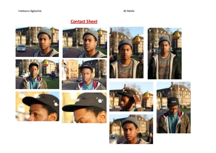 Imebvore Aigbochie                   AS Media                     Contact Sheet